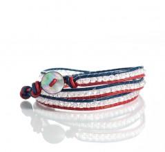 RWB Bohemian Wrap Bracelet