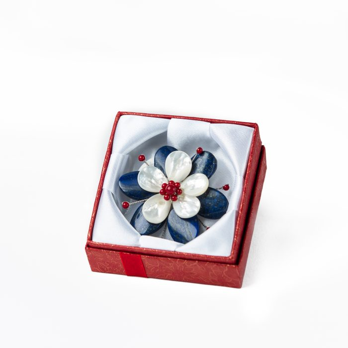 Red white and blue flower brooch the patriotic jewelry store red white and blue flower brooch mightylinksfo